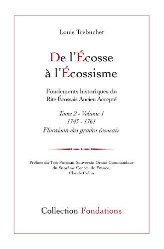 9782919656134: De l'Ecosse à l'écossisme, tome 2 1743-1761