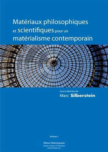 9782919694518: Materiaux Philosophiques et Scientifiques pour un Materialisme Contemporain, Vol. 1