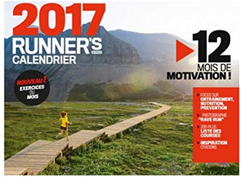 9782919708147: Calendrier Runner's World 2017 (POP.CALENDRIER)