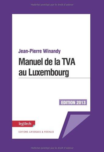9782919778409: Manuel de la Tva au Luxembourg