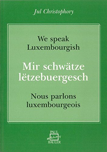 9782919885534: We speak luxembourgish /lëtzebuergesch