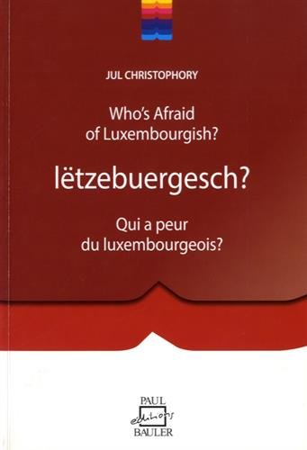 9782919885589: Christophory Jul Who's Afraid of Luxembourgish?