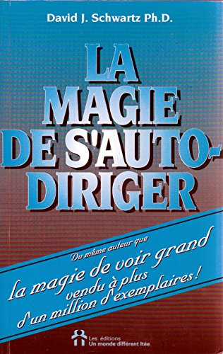 9782920000049: Magie de s'auto diriger (la)
