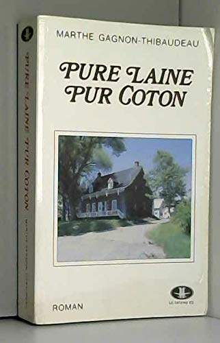 9782920176591: Pure laine, pur coton (French Edition)