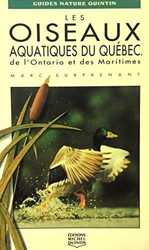 9782920438828: les oiseaux aquatiques du quebec de l'ontario et des maritimes