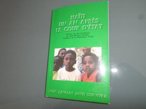 9782920862746: Haïti, un an après le coup d'état