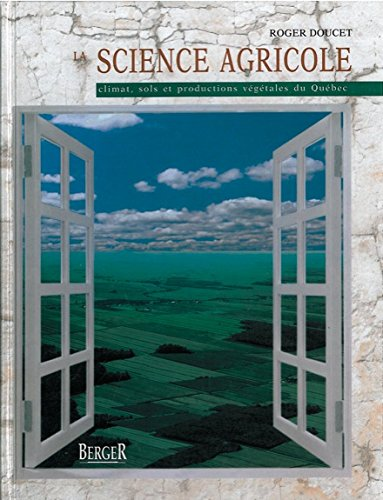 9782921416085: Science Agricole (French Edition)
