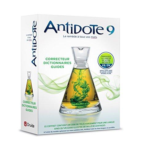 9782922010220: Antidote 9 : correcteur et dictionnaires pour le français ou l'anglais de Druide (French Edition)