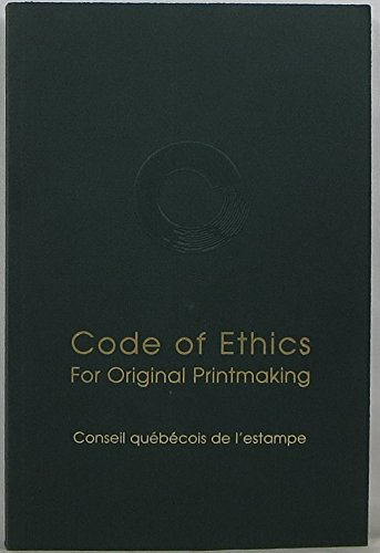 9782922018059: Code of ethics for original printmaking
