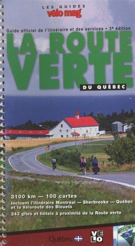 Route verte du quebec -3e ed.: N/A