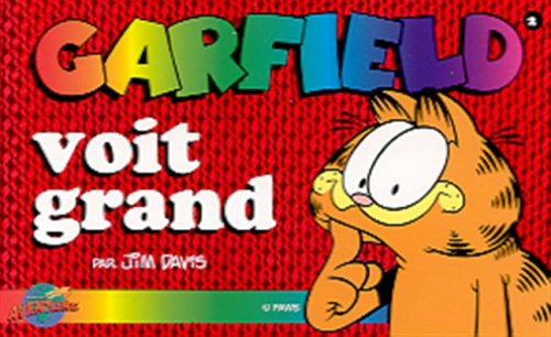 9782922148015: Garfield: Garfield Voit Grand (French Edition)