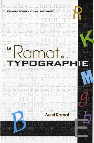 9782922366044: Ramat de la typographie (Le) - 9e �d.