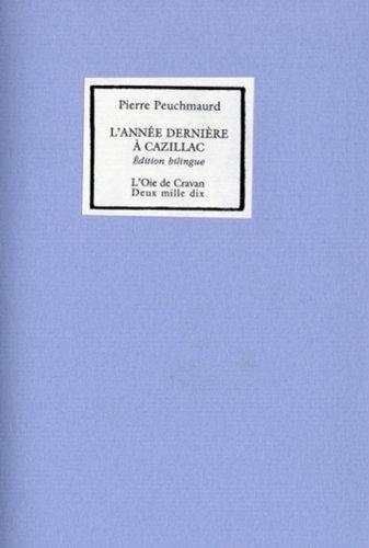 Année dernière à Cazillac (L'): Peuchmaurd, Pierre
