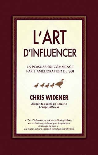 9782922405682: L'art d'influencer (French Edition)