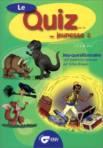 Quizz jeunesse 3 volume 12: n/a