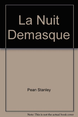 La Nuit Demasque: Stanley Pean