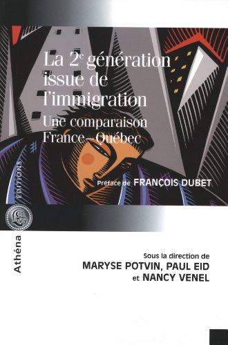 9782922865547: La deuxième génération issue de l'immigration (French Edition)