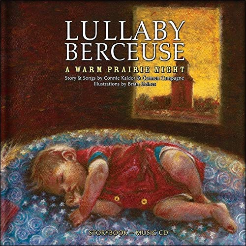 9782923163222: Lullaby Berceuse: A Warm Prairie Night (French and English Edition)