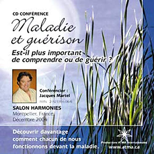 MALADIE..GUERISON -CD CONFERENCE (2923364066) by Jacques Martel