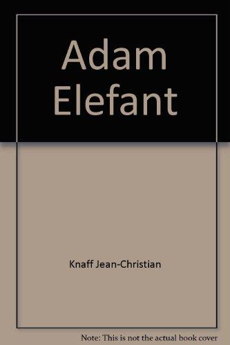9782923518794: Adam éléfant