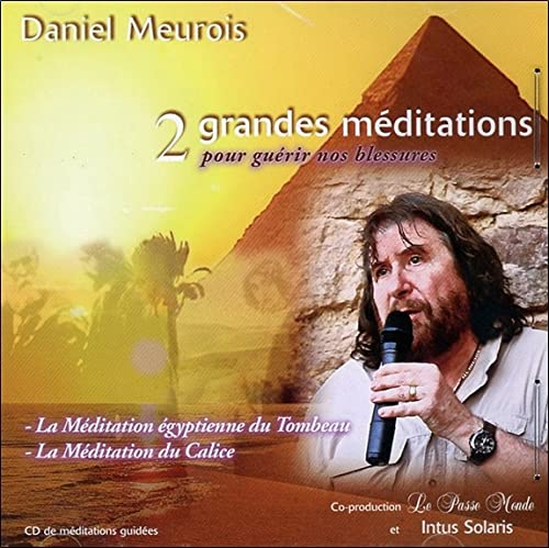 2 GRANDES MEDITATIONS GUERIR BLESSUR -CD: MEUROIS DANIEL