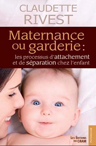 9782923705187: Maternance ou garderie (Psychologie)