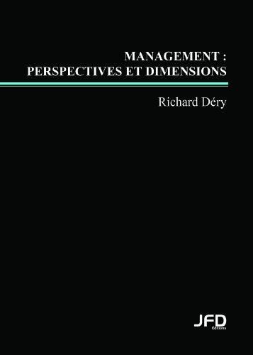 9782923710013: Management : perspectives et dimensions