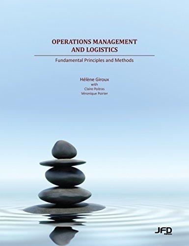 9782923710549: Operations Management and Logistics: Fundamental Principles and Methods