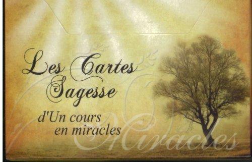 9782923717333: les cartes sagesse d'un cours en miracles