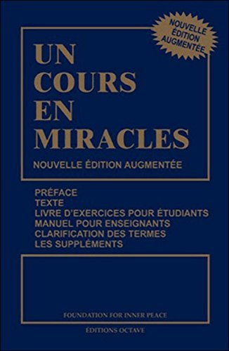 COURS EN MIRACLES -UN-: COLLECTIF - NED 2013