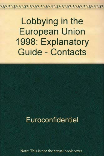 9782930066424: Lobbying in the European Union: The White Book
