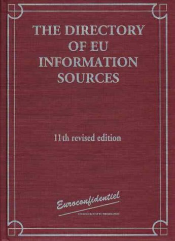 9782930066554: Dir Eu Information Sources E11