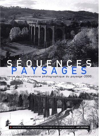 9782930115054: Séquences, paysages : Revue de l'observatoire photographique du paysage, 2
