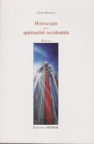 9782930133140: Holoscopie de la spiritualité occidentale