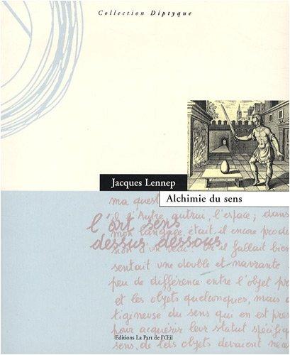 9782930174211: Alchimie du sens (French Edition)