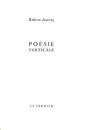 9782930231839: Poesie Verticale 1