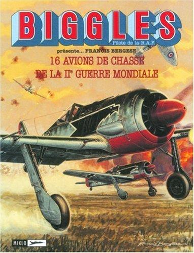 9782930234144: Biggles : Mes avions de papier - Porte-folio : Avions de chasse de la 2e guerre