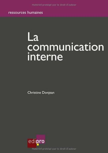 La communication interne: Donjean