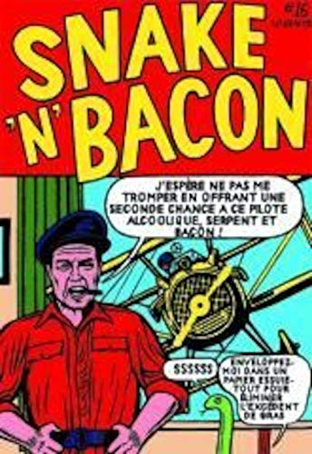 9782930356891: Snake'n'bacon's, cartoon cabaret