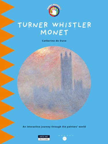 9782930382012: Turner Whistler Monet: An Interactive Journey Throughout the Painters' World