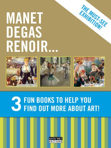 9782930382920: Gold Pack: Manet Degas Renoir: 3 Fun Books to Help You Find Out More About Art!