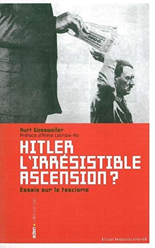 9782930402284: Hitler, l'irrésistible ascension ? (French Edition)