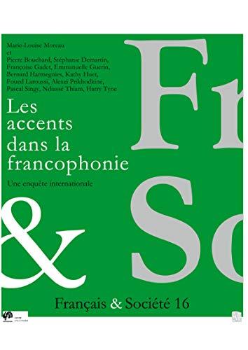 9782930481418: Les Accents Dans la Francophonie. une Enquete Internationale. Cortil-Wodon. (French Edition)