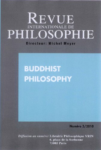9782930560045: Buddhist Philosophy (Revue internationale de philosophie 253 3-2010)