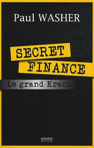 9782930585000: Secret finance ou le grand krach