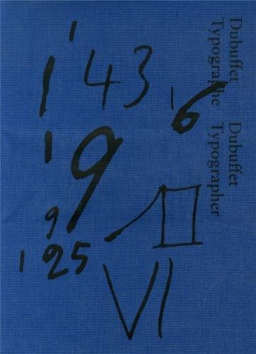 9782930667058: Dubuffet typographe (Soft alphabet)