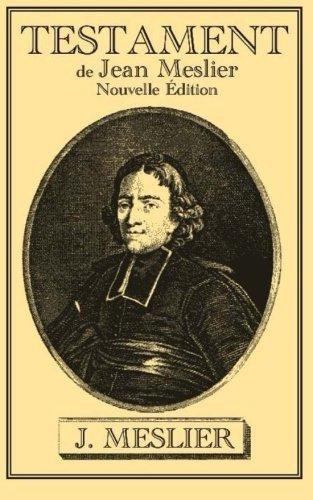 9782930718729: Testament de Jean Meslier (French Edition)