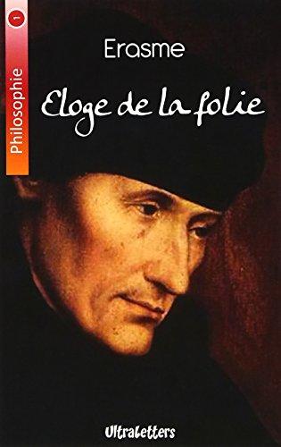 9782930718811: Eloge de la folie (Philosophie)