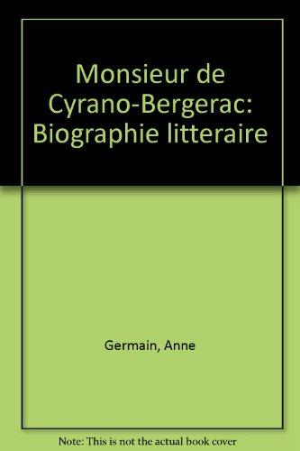 9782940033164: Monsieur de Cyrano-Bergerac