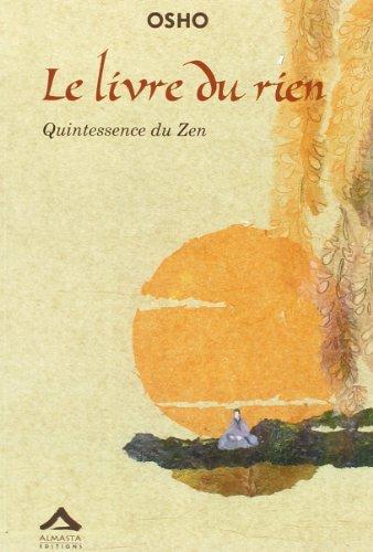 Livre du rien. Quintessence du zen (2940095124) by Osho Rajneesh